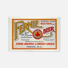 Canada Beer Label 7 Rectangle Magnet