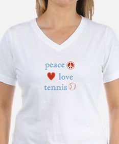 Peace Love Tennis Shirt