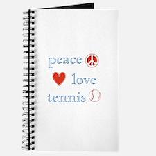 Peace Love Tennis Journal