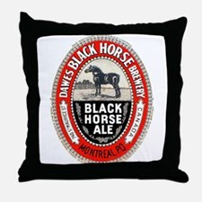 Canada Beer Label 6 Throw Pillow