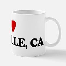 I Love DANVILLE Mug