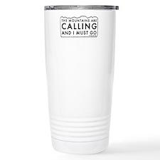 John Muir Mountains Calling Travel Mug