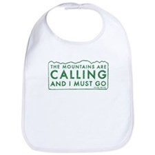 John Muir Mountains Calling Bib
