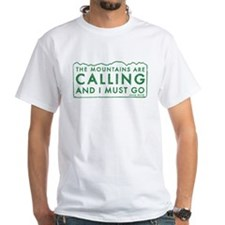John Muir Mountains Calling Shirt