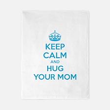 Keep calm and hug your mom Twin Duvet