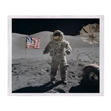 RightPix Moon G1 Throw Blanket