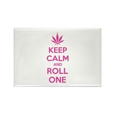 Keep calm and roll one Rectangle Magnet