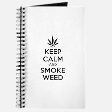 Keep calm and smoke weed Journal