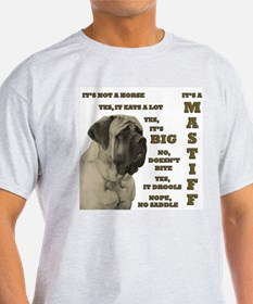 Mastiff FAQ Ash Grey T-Shirt