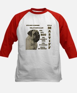 Mastiff FAQ Kids Baseball Jersey