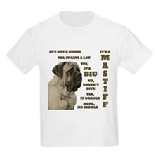 Mastiff FAQ Kids T-Shirt