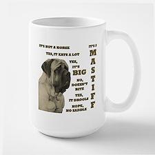 Mastiff FAQ Large Mug