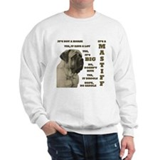 Mastiff FAQ Sweatshirt