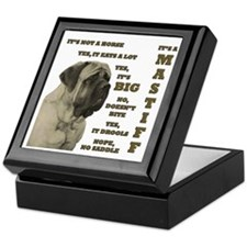Mastiff FAQ Keepsake Box