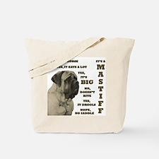 Mastiff FAQ Tote Bag