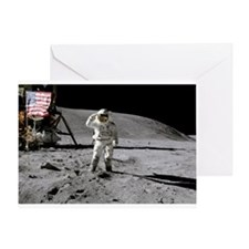 RightPix Moon F2 Greeting Card