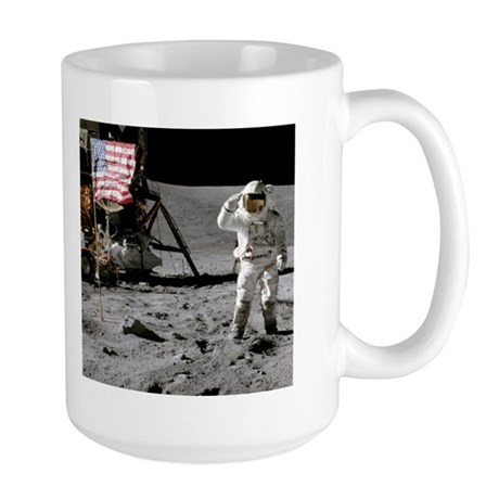 RightPix Moon F2 Large Mug