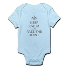 Keep calm and pass the joint Infant Bodysuit