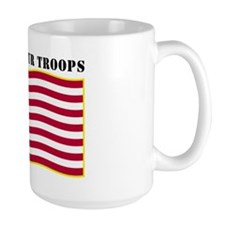 Support Our Troops US Flag Mug