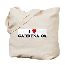 I Love GARDENA Tote Bag