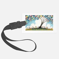 Magical Reading Tree Luggage Tag