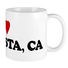 I Love ISLA VISTA Small Mug