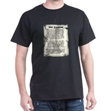 Ode to the Guitar Black T-Shirt
