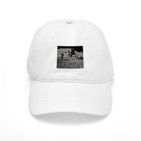 Apollo Moon Flag Salute USA Cap