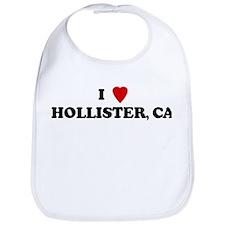 I Love HOLLISTER Bib