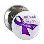 """Pancreatic Cancer Awareness 2.25"""" Button (10"""