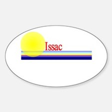 Issac Oval Decal