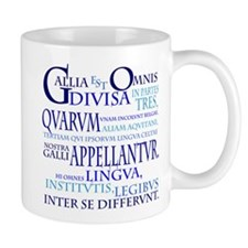 Gallia (blue) Mug