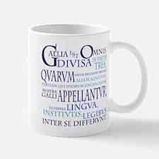 Gallia (blue) Small Small Mug