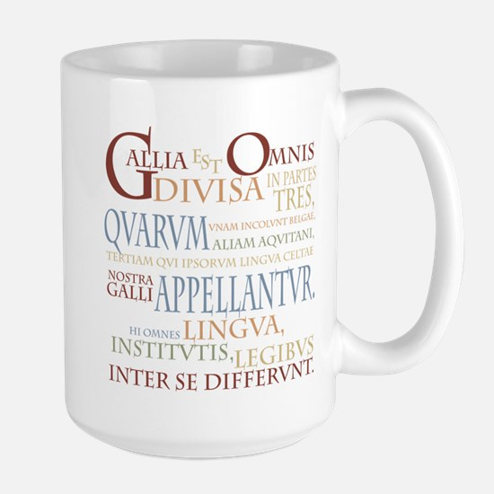 Gallia (ancient colors) Large Mug