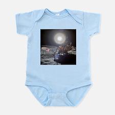 RightPix Moon DF Infant Bodysuit
