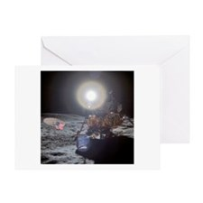RightPix Moon DF Greeting Card