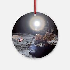 RightPix Moon DF Ornament (Round)