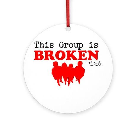 Broken Ornament (Round)