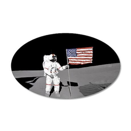RightPix Moon D1 22x14 Oval Wall Peel