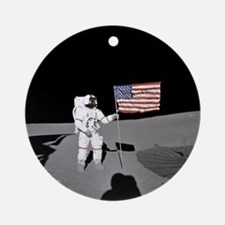RightPix Moon D1 Ornament (Round)