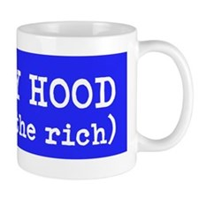 ROMNEY HOOD give to the rich Mug