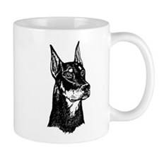 DOBERMAN HEAD Mug