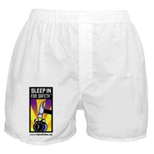 Sleep In For Safety(tm) Boxer Shorts