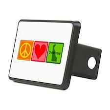 Peace Love Delaware Hitch Cover