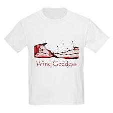 Wine Goddess Splash T-Shirt