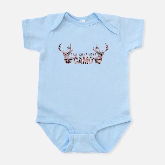REAL GIRLS WEAR CAMO Infant Bodysuit