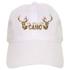REAL GIRLS WEAR CAMO Baseball Cap