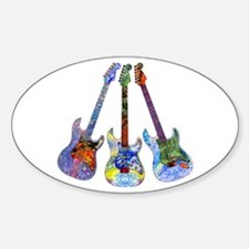 Wild Guitar Decal
