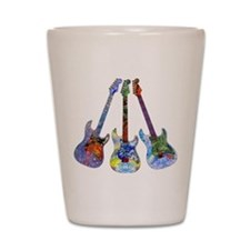 Wild Guitar Shot Glass