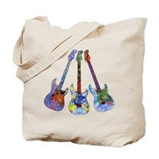 Wild Guitar Tote Bag